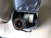 Airflo Witch 7/9Fly reel complete with four extraspare spools and lines