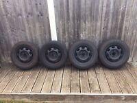 Volkswagen 13' Steel Wheels