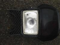 Dtr front headlight open to any offers