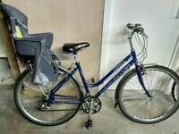Bicycle with child seat
