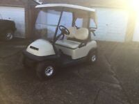 Clubcar electric golf buggy