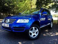 (((Volkswagen Touareg 2.5 TDI SE AUTO SAT FULLY LOADED HPI CLEAR)))