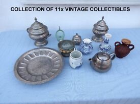 Joblot of 11x mixed vintage collectibles at a very low clearance price