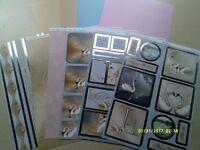 CRAFT / CARD MAKING SWAN LAKE CARD KIT