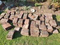 """Approximately 400 used clay roof tiles - 10""""x6"""""""
