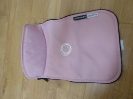 Bugaboo Tailored Fabric set and matching Footmuff - Soft Pink. Immaculate condition! **REDUCED**