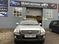 2008 *4X4* KIA SPORTAGE, FULL YEAR MOT, FULL SERVICE HISTORY, FULLY SERVICED