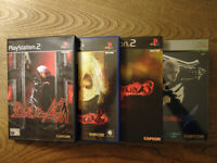 Devil May Cry 1 To 4 (PS2/Xbox 360) Great Condition