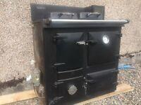 Rayburn oil fired cooker