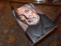 Ideal Xmas Present - Tom Jones Autobiography in Hardback