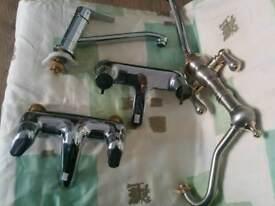 Taps 2 kitchen sink and 2 bath taps