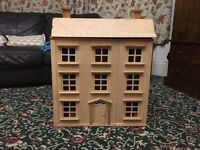 Dolls house, wooden £20
