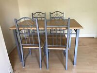 dining table set for quick sale