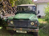 Land Rover, DEFENDER, Pick Up, 2000, Manual, 2495 (cc)