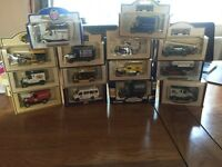 Collectible model cars and vans