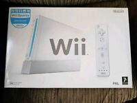 Hardly used Nintendo wii