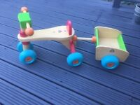 Early learning centre trike with trailer