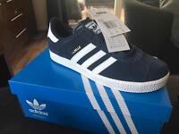 Brand New Adidas Gazelle size 4
