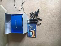 PlayStation VR with camera, two motion sticks and 2 games barley used