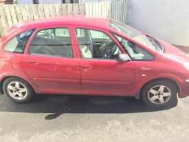 2004 Citroen Picasso 1.6hdi breaking or sold as 1