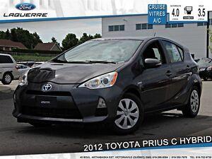 2012 Toyota Prius c **HYBRIDE*BLUETOOTH *CRUISE*A/C**