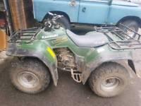 Yamaha klf 300 4wd farm quad