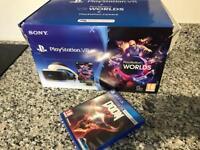 PlayStation vr worlds bundle + doom vr (used once )
