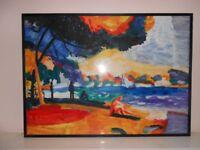 "Original Painting ""Heat & Sun Mallorca"" by James Cockburn. Oil on board"
