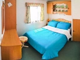 "Large 35""x12"" Comfy 3 Bed Static Caravan with Balcony for Sale in Leysdown, Sheerness, Kent"