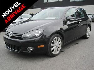 2012 Volkswagen Golf CUIR TOIT OUVRANT MAGS