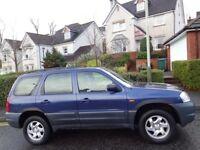 (2004) MAZDA TRIBUTE 2.0 GSi 4WD MPV 1 OWNER, LOW MILES, A/C, CRUISE, SUNROOF, MOT JUNE 2018, 2 KEYS