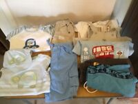 Baby boys clothes bundle 9 to 12 months £5