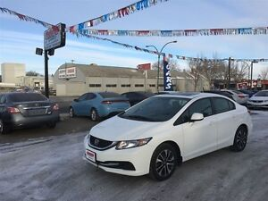 2013 Honda Civic EX w/Sunroof only 54KM