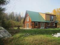 waterfront cottage on small lake in quebec 45 min from North bay