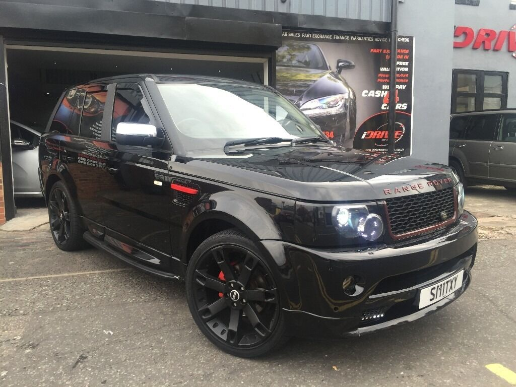 2012 land rover range rover sport 2 7 td v6 hse 5dr black. Black Bedroom Furniture Sets. Home Design Ideas