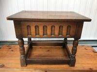 Oak side table FREE DELIVERY PLYMOUTH AREA
