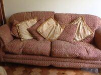 three seater & two seater sofas