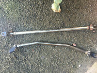 honda civic ej9 ek3 vti eg eg6 ek4 front rear strut braces modified