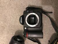 Nikon D50 DSLR Camera with a AF-S nikkor 22-200mm lens