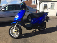 2016 TGB CLASSIC 202 49CC SCOOTER 459 MILES FROM NEW