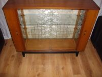 OLD DRINKS CABINET GOOD CONDITION IDEAL UPCYLCE PROJECT BARGAIN AT £25