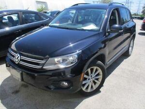 2014 Volkswagen Tiguan COMFORTLINE / NAVIGATION / SUNROOF / LEAT