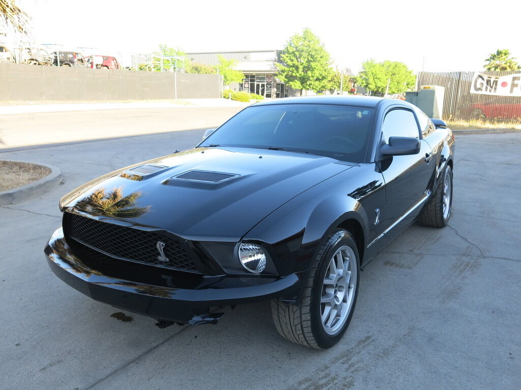 2007 ford mustang gt500 shelby gt damaged wrecked rebuildable salvage 07 500 used ford. Black Bedroom Furniture Sets. Home Design Ideas