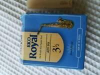 Rico Royal Alto sax reeds