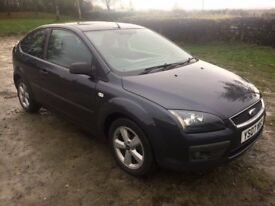 2007 FORD FOCUS 1.6 CLIMATE ZETEC GOOD MPG FULL SERVICE HISTORY 99,000 MILES