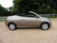Nissan Micra Essenza 1.6 Automatic Convertable (stunning caffe latte metallic) 2006