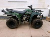 Yamaha bear tracker 250 farm quad 2001