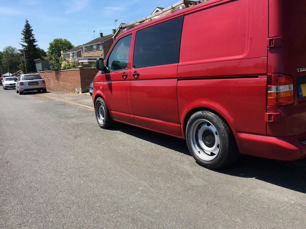 Vw T5 Transporter Banded Steel Wheels In Stroud