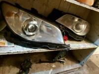 Subaru impreza hawkeye non xenon headlights 2006 2007
