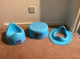 Toilet Seat, Step and Potty
